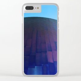 Wall Meets Sky Clear iPhone Case