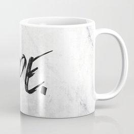 NOPE Marble Quote Coffee Mug