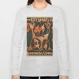 Vintage poster - The Brothers Lowell Long Sleeve T-shirt