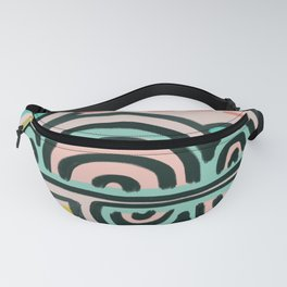 cloudy with a chance of rain Fanny Pack