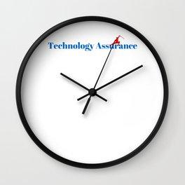 Top Technology Assurance Wall Clock