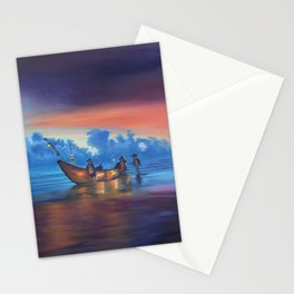Sea Lantern Balance Stationery Cards