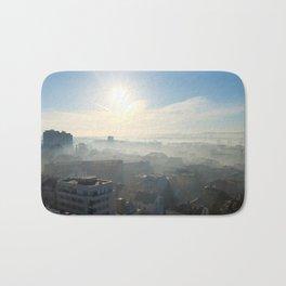 Belgrade / Morning Fog Bath Mat