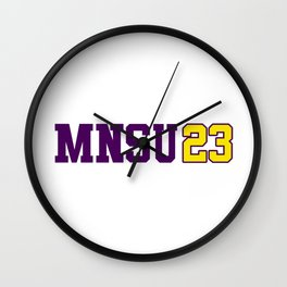 Minnesota State Class of 2023 Wall Clock