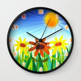 Let the Sun Shine In Wall Clock