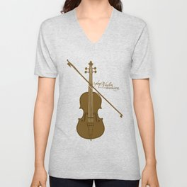Play the Violin Unisex V-Neck