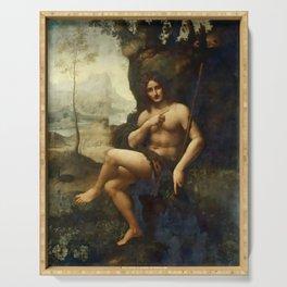 "Leonardo da Vinci ""Bacchus, formerly Saint John the Baptist"" Serving Tray"