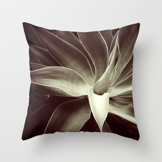 mocha java agave Throw Pillow