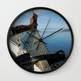 Sailing Through the Narrows Mull Scotland Wall Clock