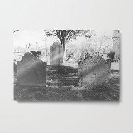 Old Burial Ground Metal Print