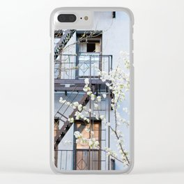 Brooklyn Spring Clear iPhone Case