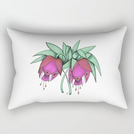 Delicate As A: Crown Imperial Fritillary Rectangular Pillow