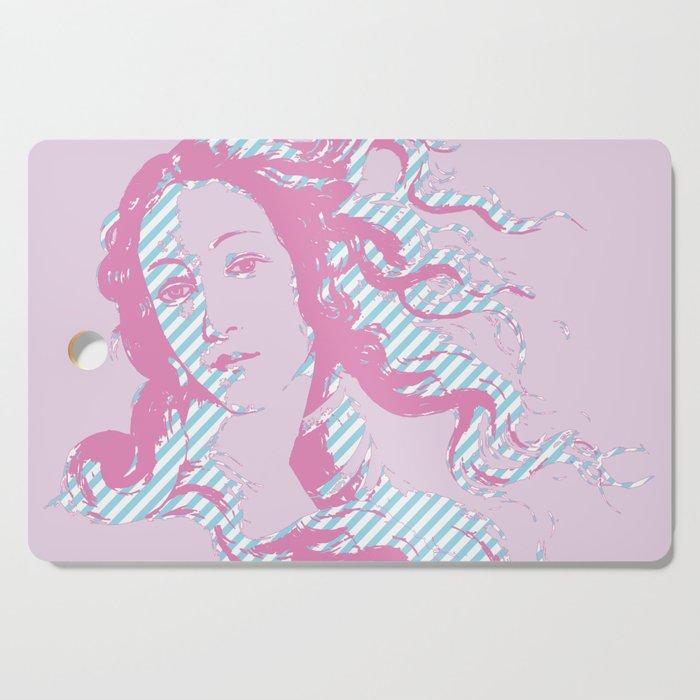 Rebirth of Venus - Pink & Cyan - Trans Pride! Cutting Board