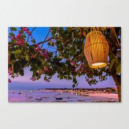 Bali Vista Canvas Print