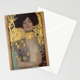 Gustav Klimt - Judith and the Head of Holofernes Stationery Cards