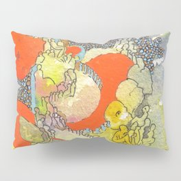 Orange Pathway Pillow Sham