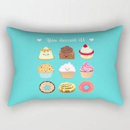 You dessert it! Rectangular Pillow