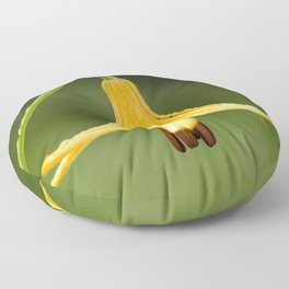 Canada Lily Floor Pillow