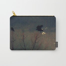 Raven's Gathering in the Blue Hour Carry-All Pouch