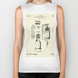 Blood Transfusion and Storage Apparatus-1942 Biker Tank