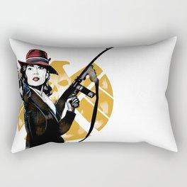Agent Peggy Carter Rectangular Pillow