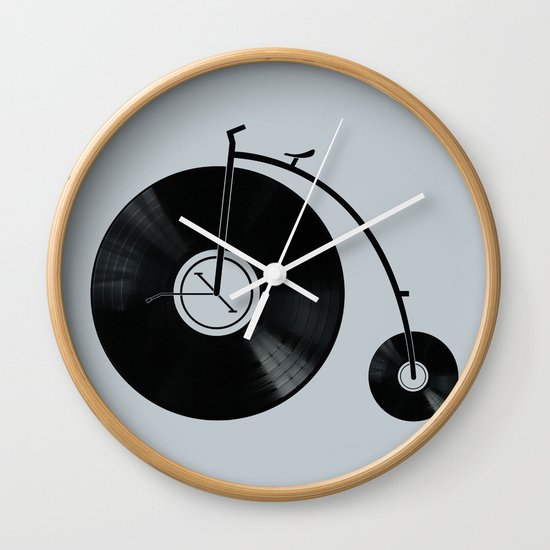 Ride Your Music! Wall Clock
