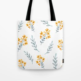Yellow Flower Obsession Tote Bag