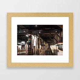 Track24 Framed Art Print