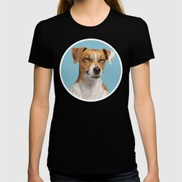 Smiling Dog (Jack Russell) T-shirt