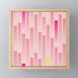 Future Stripes Framed Mini Art Print