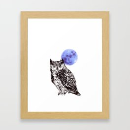 A Hoot Framed Art Print