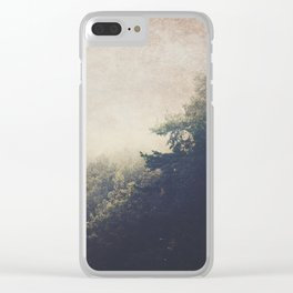 Never homeless Clear iPhone Case