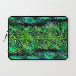 Instant Connection - Abstract Fusion Collection Laptop Sleeve