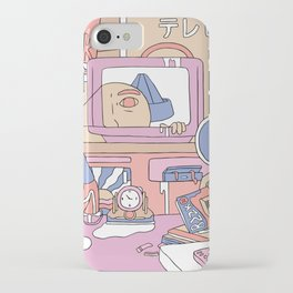 Tv People iPhone Case