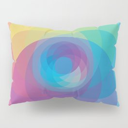Spiral Rose Pillow Sham