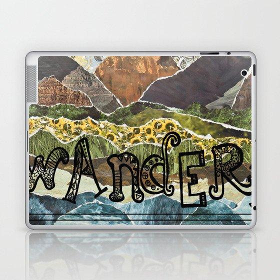 Compass Rose Garden Laptop & iPad Skin