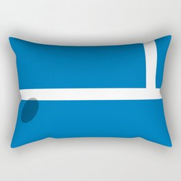 """IN"" – Hawk-Eye Rectangular Pillow"