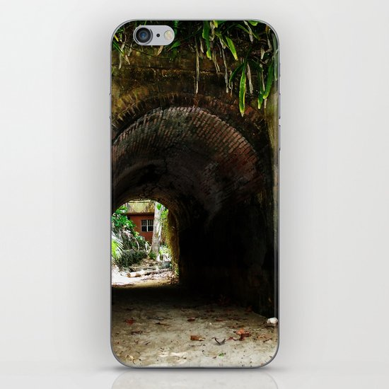 Old tunnel 2 iPhone & iPod Skin
