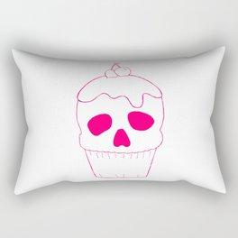 Skullcake Pink Rectangular Pillow