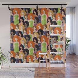 Spring girls Wall Mural
