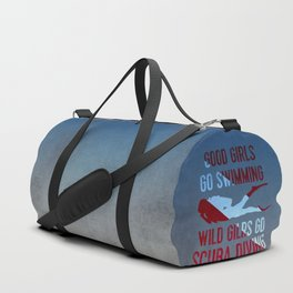 Wild girls go scuba diving Duffle Bag