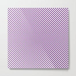 Winterberry Polka Dots Metal Print
