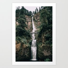 Multnomah Falls III / Oregon Art Print