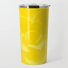 Succulent Plant Yellow Mellow Color #decor #society6 #buyart Travel Mug