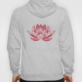 Pink lotus flower Hoody
