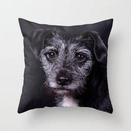 Pop the Dog Throw Pillow