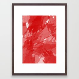RED HOT CHILI PRINT Framed Art Print