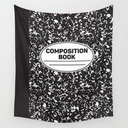 Composition Notebook College School Student Geek Nerd Wall Tapestry