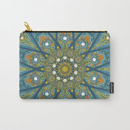 Mandala Eye of the Pisces Carry-All Pouch