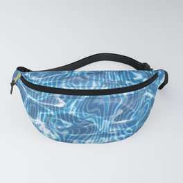 Abstract Water Pool Fanny Pack